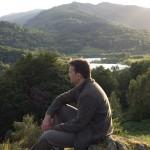 Gifford Birchley at Neaum Crag, Cumbria